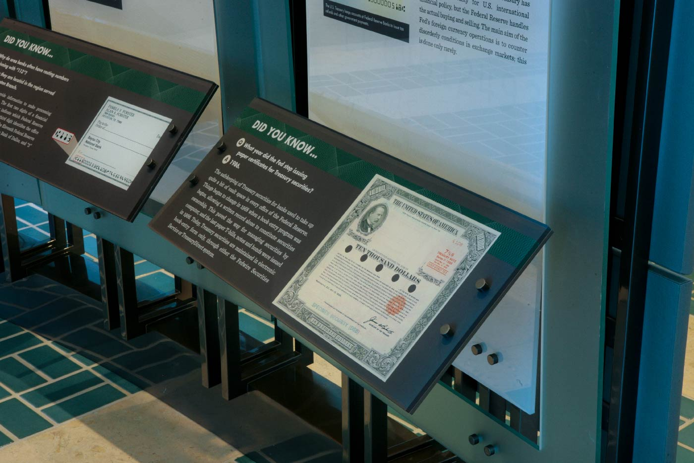 Visitor Center at the Federal Reserve Bank of Houston | CORE